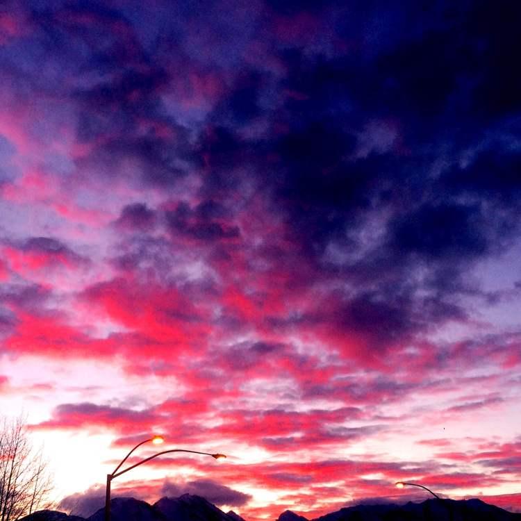 Flaming Skies
